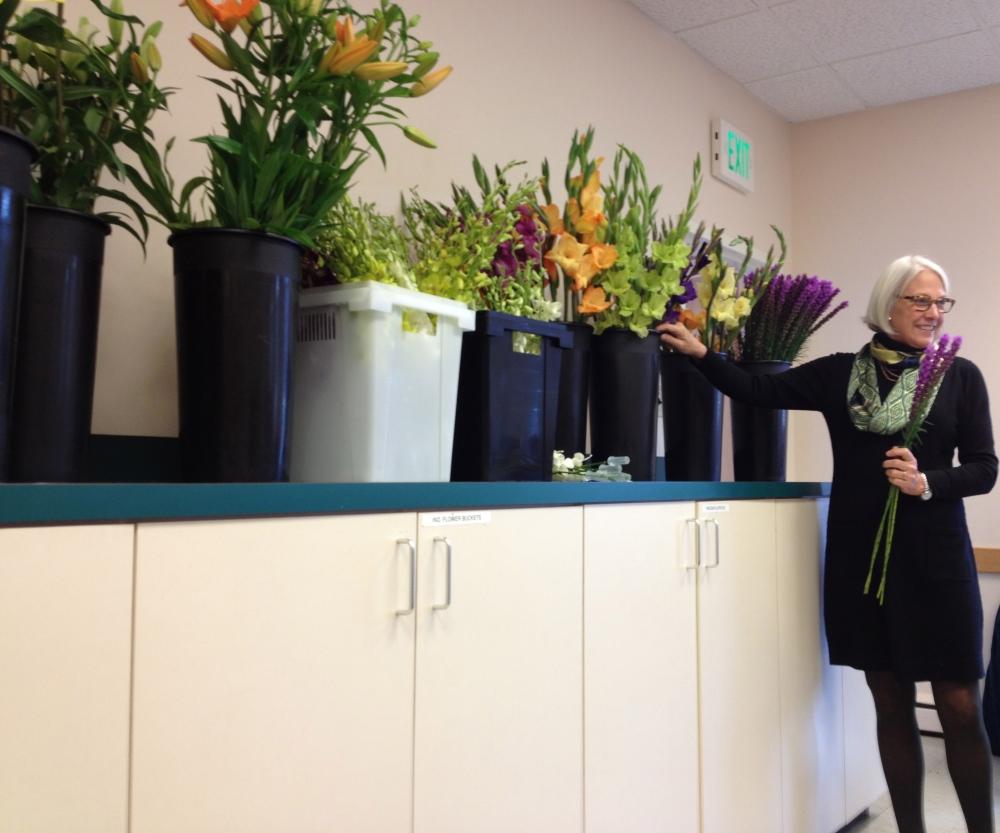 day four - basic floral design I at longwood (3/6)