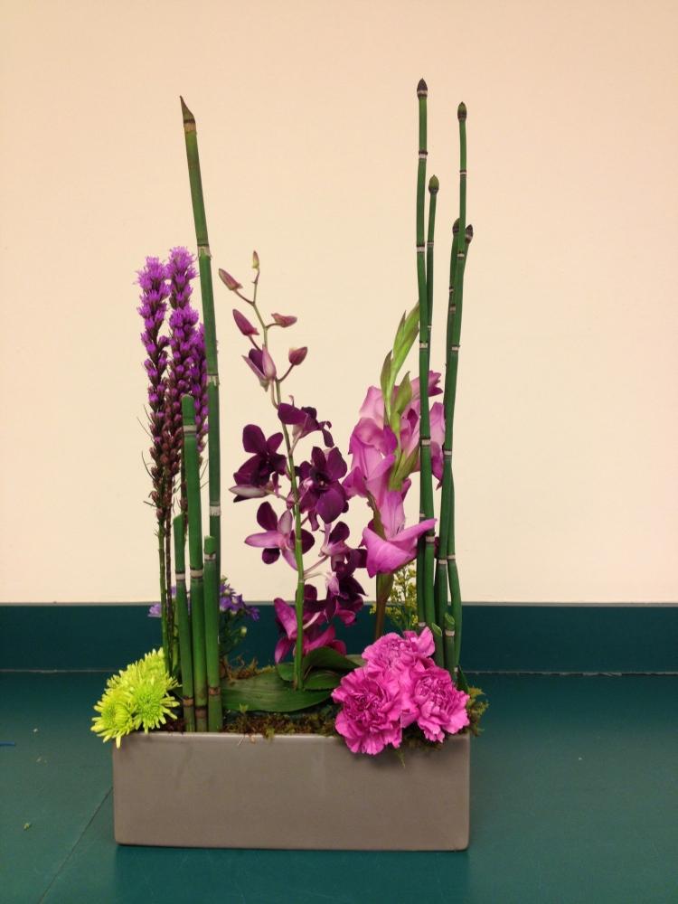 day four - basic floral design I at longwood (5/6)