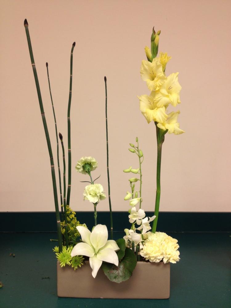 day four - basic floral design I at longwood (4/6)
