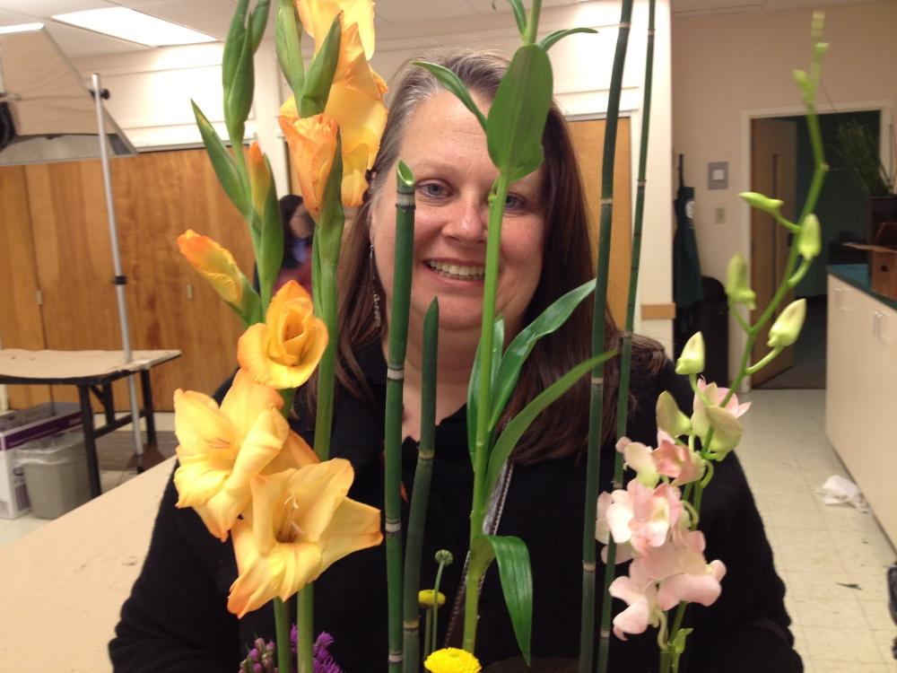 day four - basic floral design I at longwood (6/6)