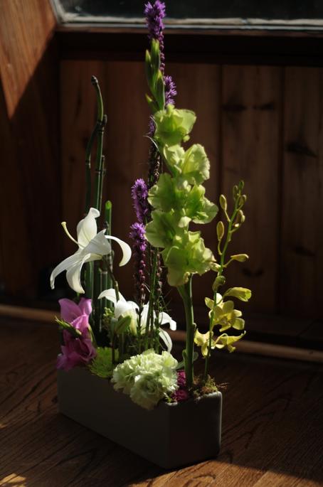 day four - basic floral design I at longwood (1/6)