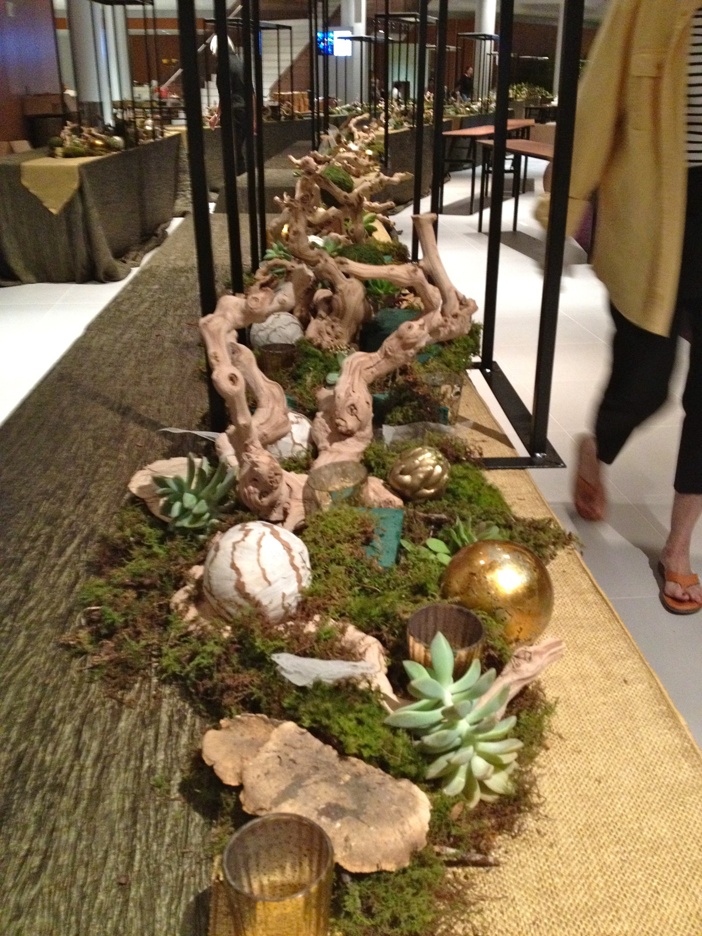 Woodland Tablescape Roots To Blooms