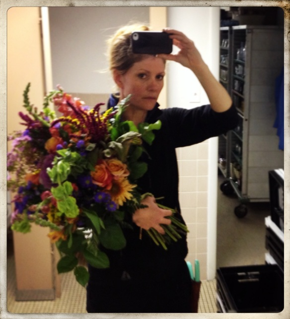 Locally Grown Hand tied bouquet