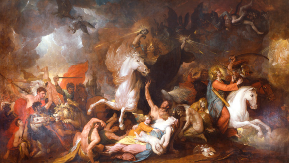 Benjamin West's Death on The Pale Horse 1817