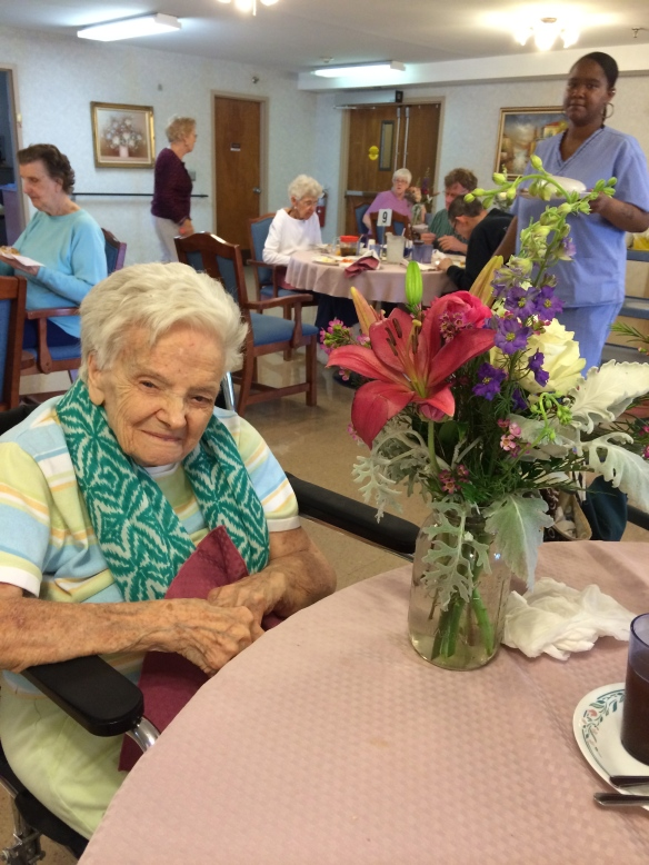 Margie, 102 years young