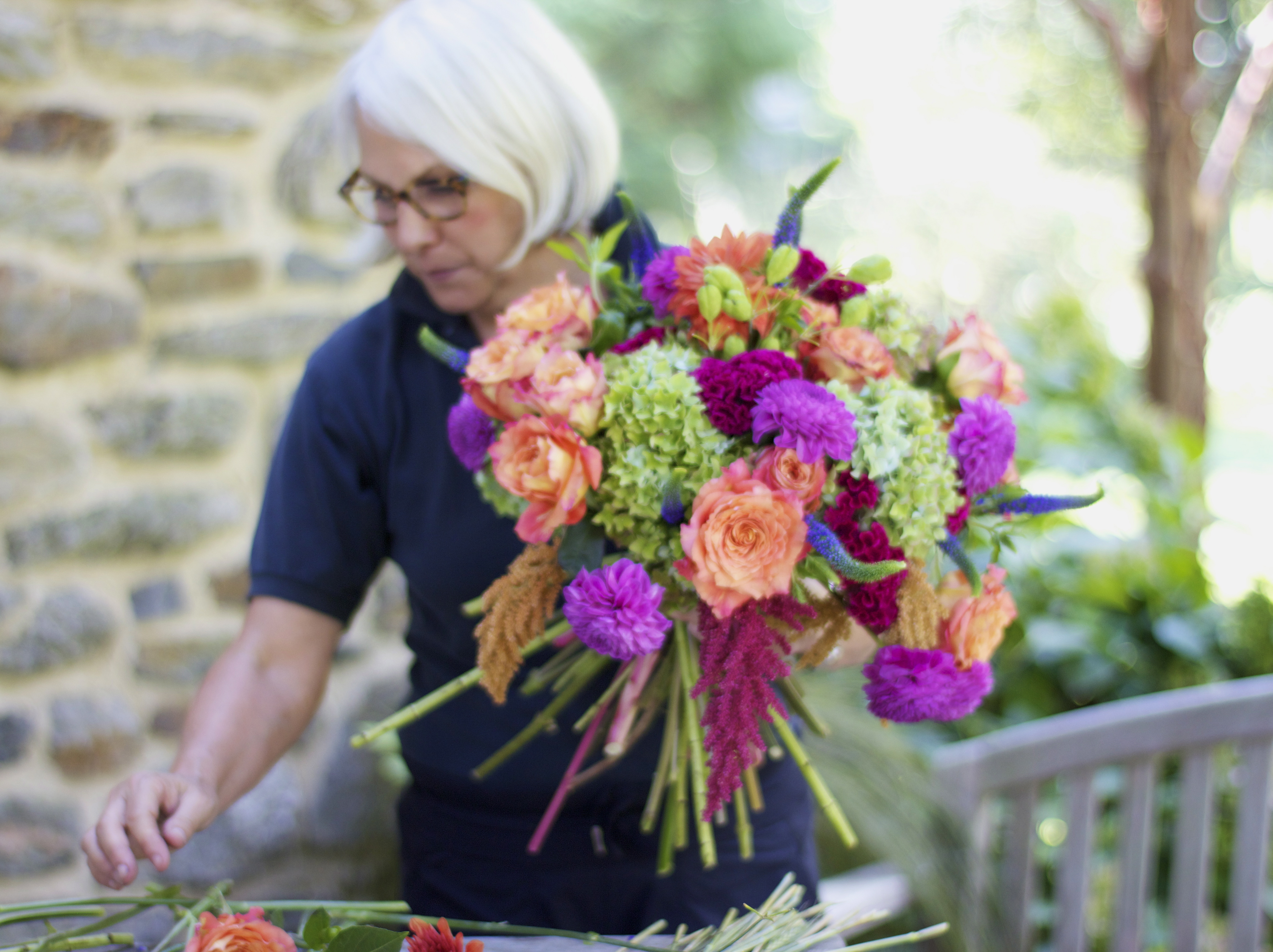 Roots to blooms adventures in eco friendly floral design janes hand tied bouquets are to die for photo not featured in book izmirmasajfo